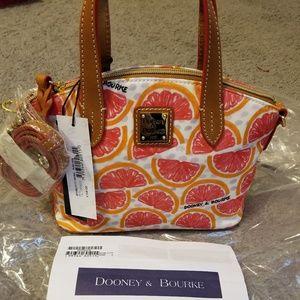 Dooney & Bourke Ruby crossbody Pomelo NWT